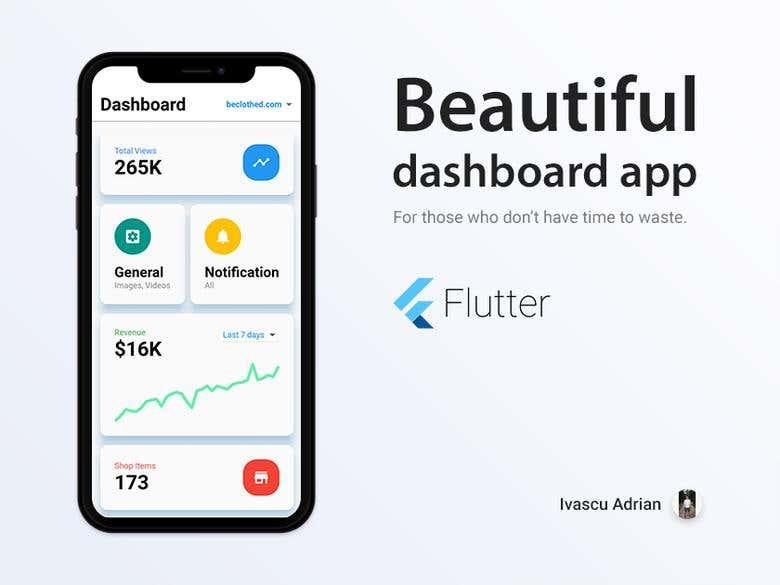 Dashboard app concept [WIP] | Freelancer