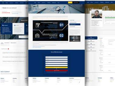 stock exchange website