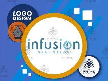 Logo Design - Infusion Spa and Salon