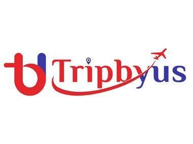 TripByUs Logo Design