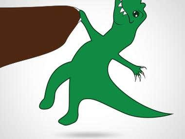 T-Rex Illustration