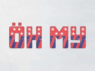 OH MY - NEW FONT