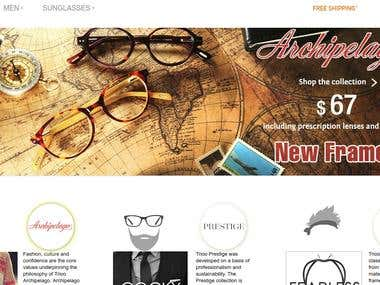 Magento webshop - Trioo.us