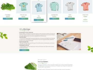 Moringa E-Commerce Wordpress and Woocommerce Bootstrap4