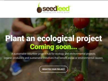 Website for spreading ecological and eco-friendly projects