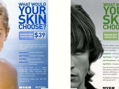 Biotherm Skincare print ad