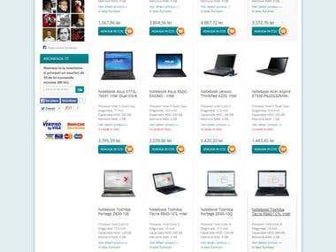 vexio.ro || laptop-notebook || Ecommerce