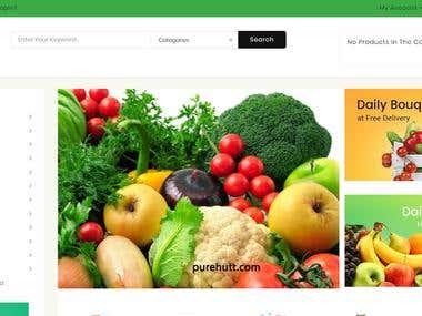 WordPress and E commerce site