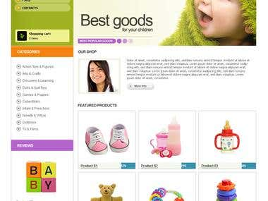 Online Shopping BabyShop