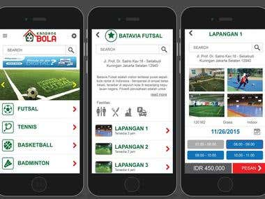 Browse Sport Facilities