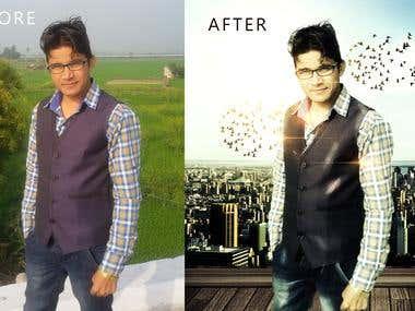 Photo manipulation and retuching