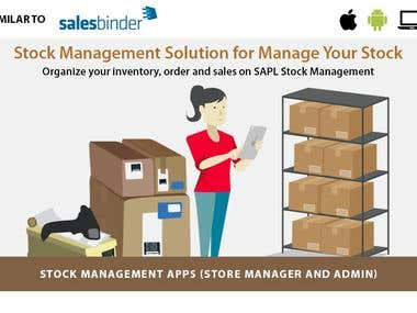 Stock & Inventory management Web & App development