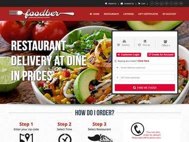 Food Delivery Web Site