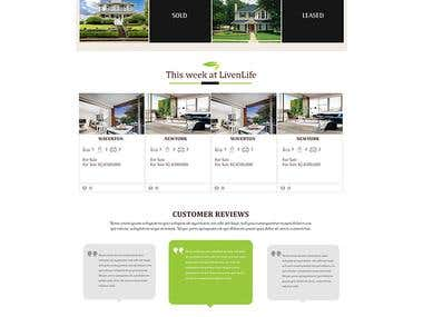 Real Estate Website for buy & sell
