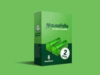 Mausenfalle - Box Design