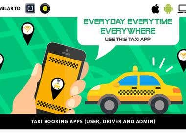 Taxi app development Android iOS