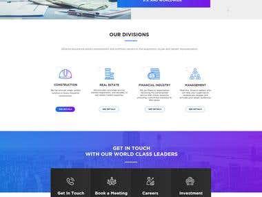 Alliance Assurance Responsive Web Design UI