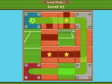 Roll The Ball - A Puzzle Game