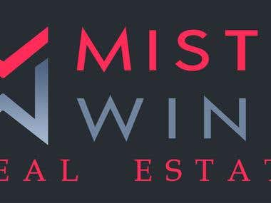 Misty Wind Logo Design