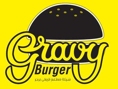 Gravy Burger Logo Design