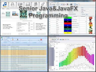 Senior Java&JavaFX Development