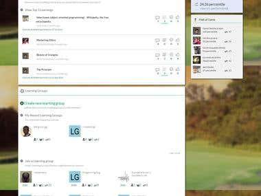 wiksate PVT LTD. E-Learning Website.