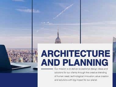 Architecture and Landscape Architecture Designing