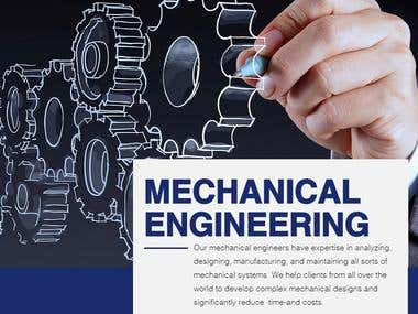 Mechanical Engineering & Product Designing