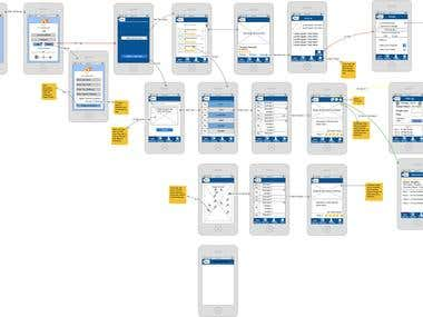 Wireframe Designing for Mobile Apps & Website