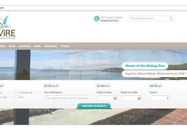 Wordpress Project Luvire.com
