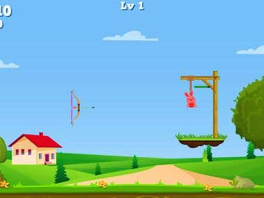 Bunny Shooter : Archery Game Bow And Arrow Game