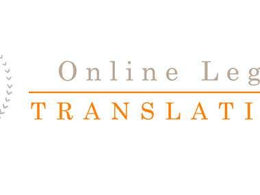Online Legal Translations Logo Design