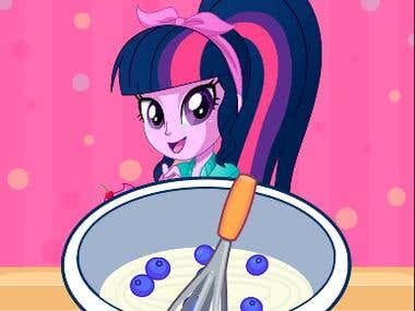 Sweet CupCake Pony