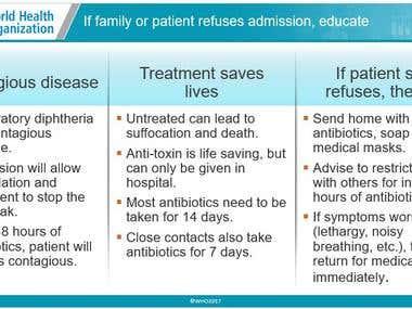 Medical translation about Diphtheria ترجمة طبية عن الدفتيريا