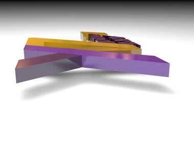 3D logo dsign