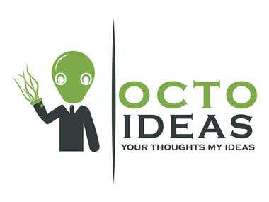 logo for octo ideas logo