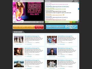 Music Video Artist Website