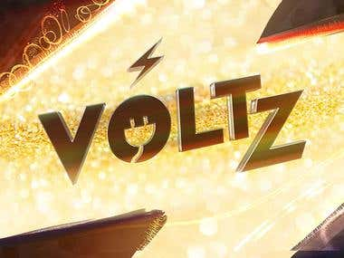 LOGO FOR VOLTZ Youtube Channel