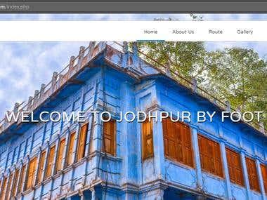 Jodhpur By Foot
