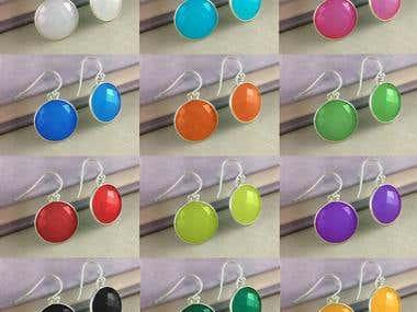 Earrings Color Variation