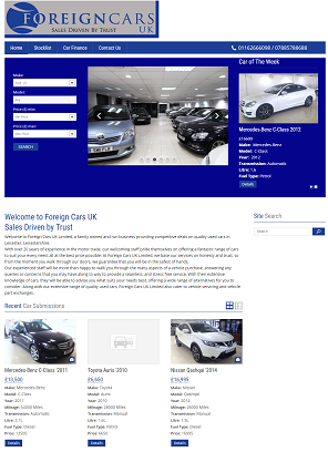 Car Portal Design and Development