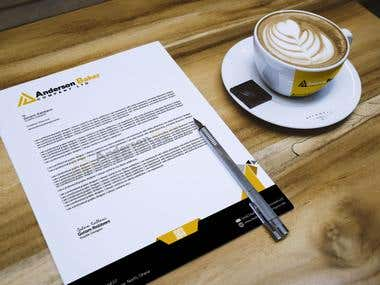 Letterhead and stationary design