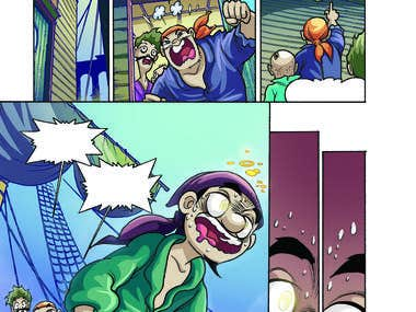 Comic Colouring