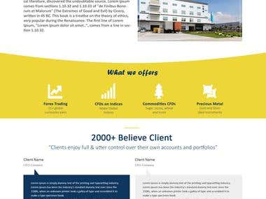 Trading Website