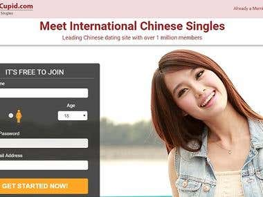 Dating website (J2EE)