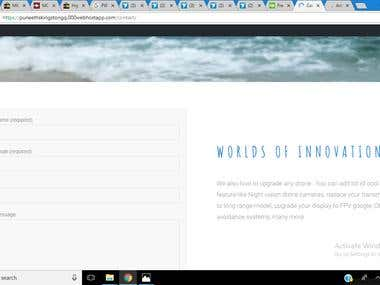 Create my very own web site using WordPress