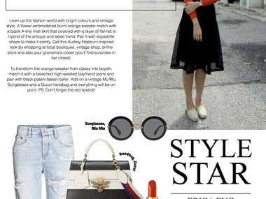 Magazine Shopping Page