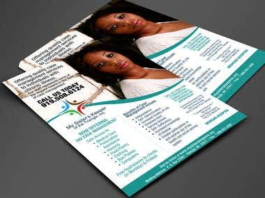 Case Management Flyer Design