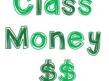 Classroom Money Management Website