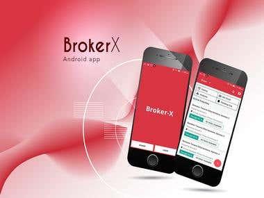Broker x android app